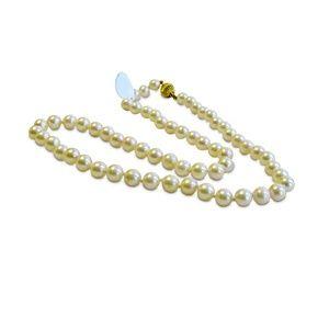 Jewelry - Pearl Necklace 14 Karat Gold Brooch